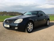 Mercedes SLK, Bj. 1997, 2295 ccm, 193 PS, 240 km/h