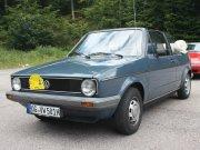 VW Golf1 Cabrio,Bj. 5/1981, 1500 ccm, 70 PS